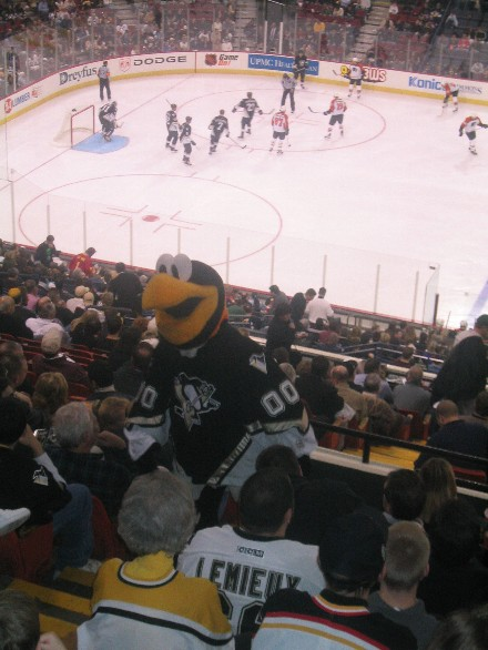 Pictures of Mellon Arena, home of the NHL's Pittsburgh ...